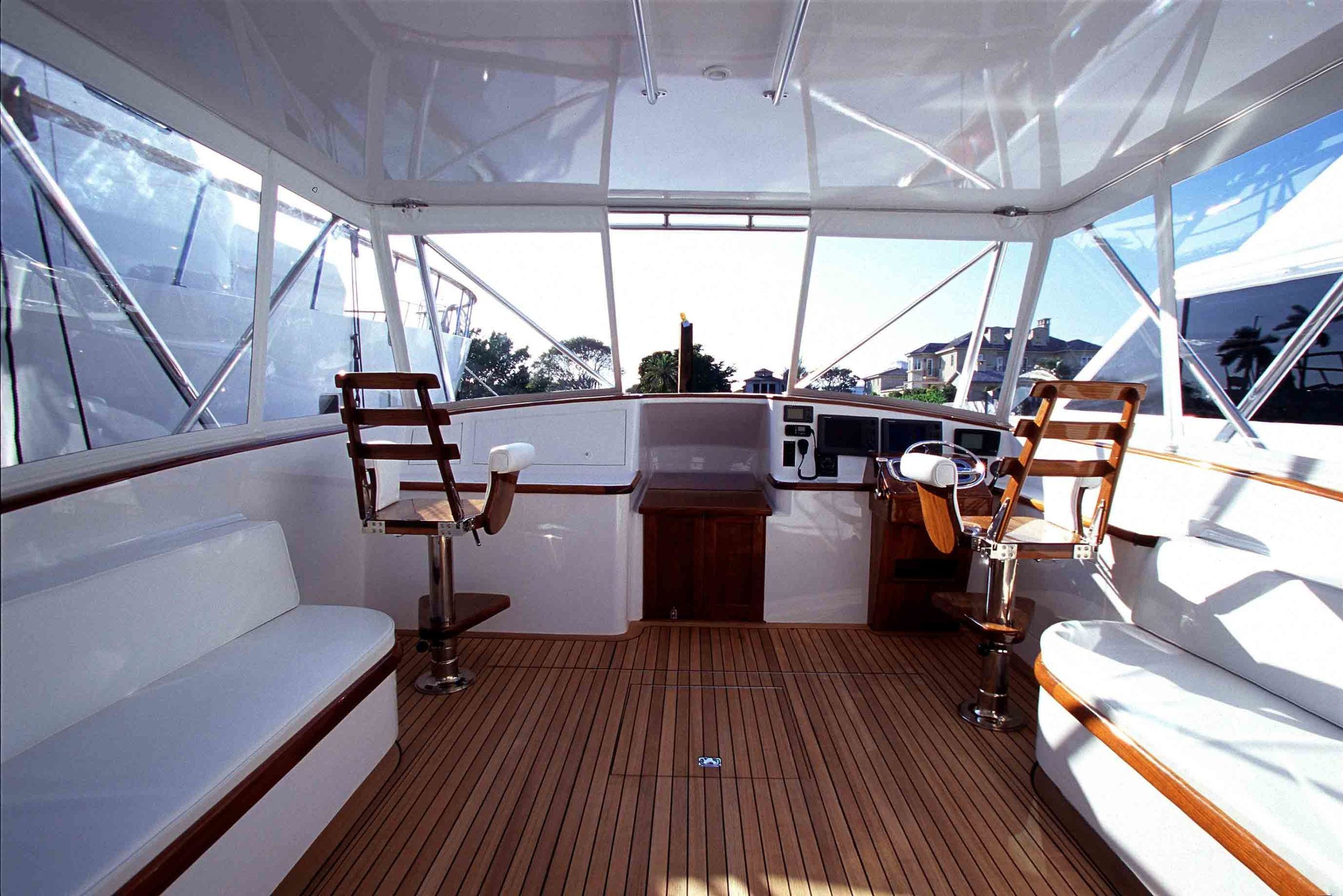 Clean and new boat windows from Rainier Marine.